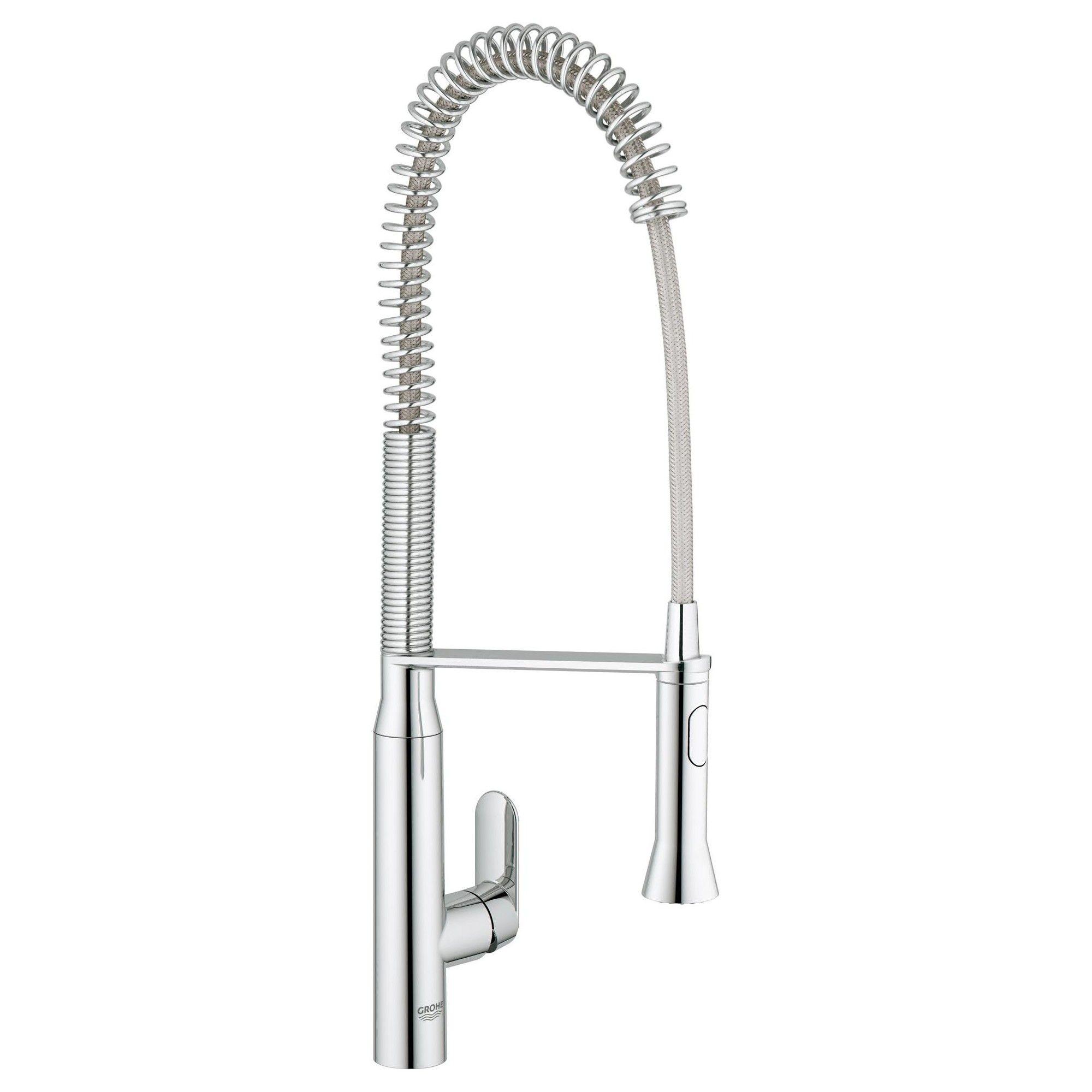 Grohe America Inc 32 951 K7 Pre Rinse Kitchen Faucet Starlight