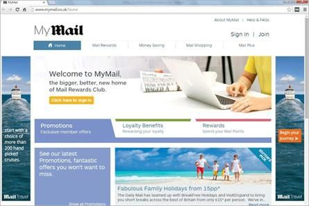 Mymail Mailonline Unveils Rewards Hub Loyalty Daily Mail