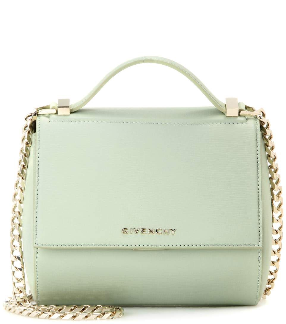 5f7d7a4a09 Givenchy - Pandora Box Chain leather shoulder bag - A modern accessory  loaded with attitude.