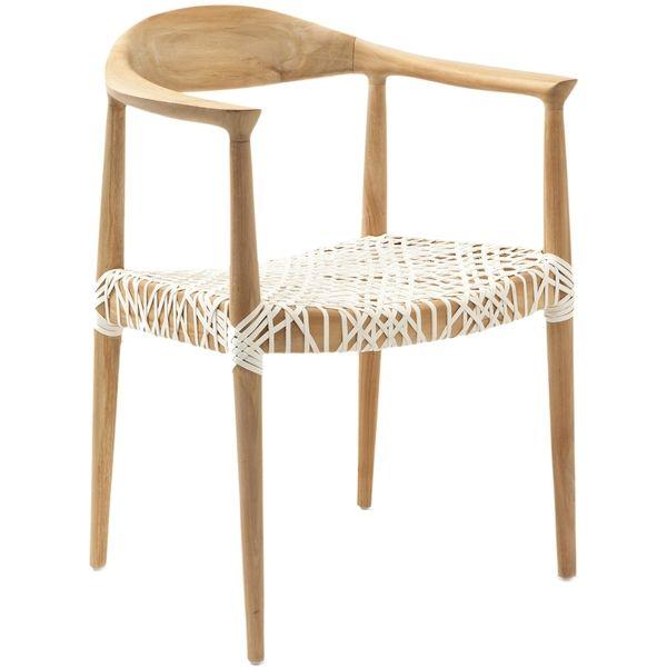 Safavieh Bali Tropical Teak Arm Chair