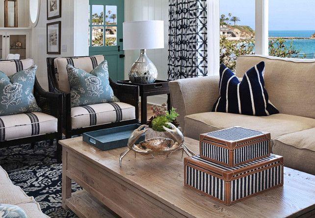 Beach House With Inspiring Coastal Interiors Home Bunch An Interior Design Luxury Homes Blog Coastal Living Rooms Home Decor