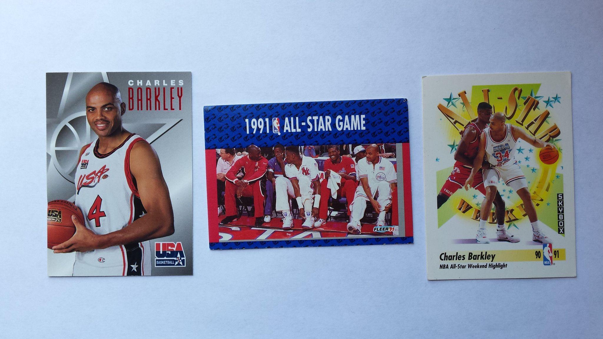 Charles Barkley single basketball cards