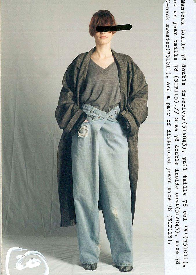 Pants --> Maison Martin Margiela Fall/Winter, 1999