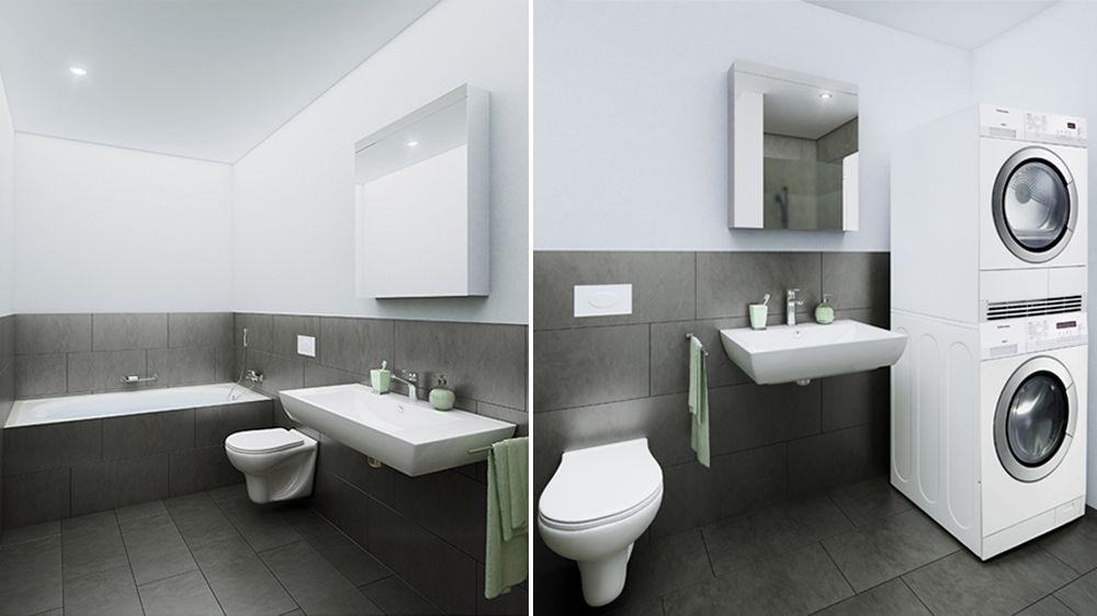 Badezimmer Dunkler Boden Helle Wand Badezimmerdunklerbodenhellewand