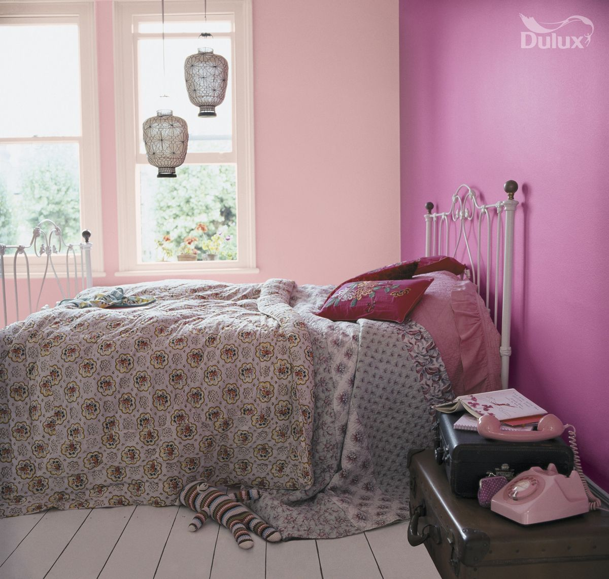 Pink Bedroom Ideas That Can Be Pretty And Peaceful Or: Playful Pinks Can Be A Unique Alternative To Statement