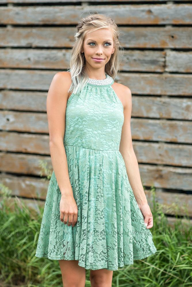 Short Lace Sage Bridesmaid Dress For Country Wedding Country Bridesmaid Dresses Sage Bridesmaid Dresses Short Sleeve Bridesmaid Dress