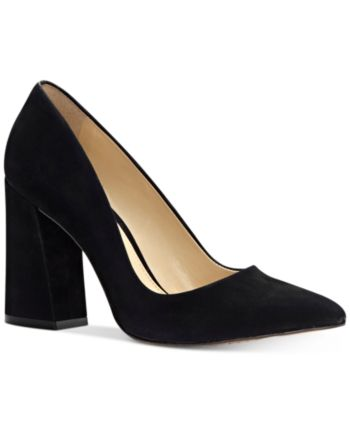 df56792e2d9 Vince Camuto Talise Pointed Block-Heel Pumps Women Shoes in 2019 ...