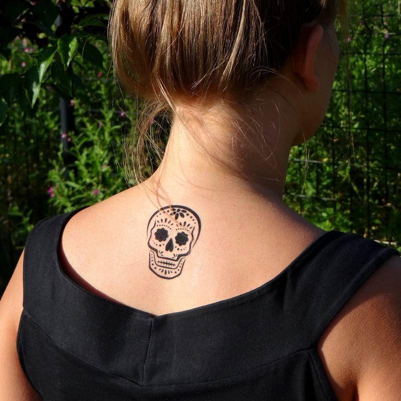 12++ Tatouage homme tete de mort mexicaine inspirations