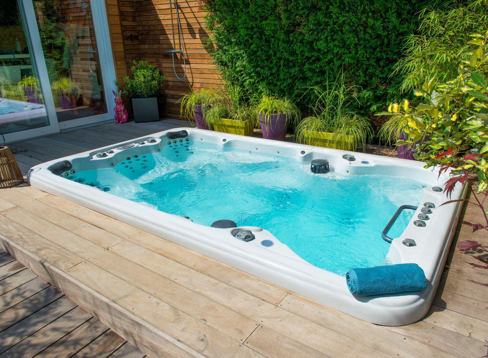 Prix Piscine Aquilus Mini Water sportez vous bien   spa de nage, spa exterieur, aquilus piscine