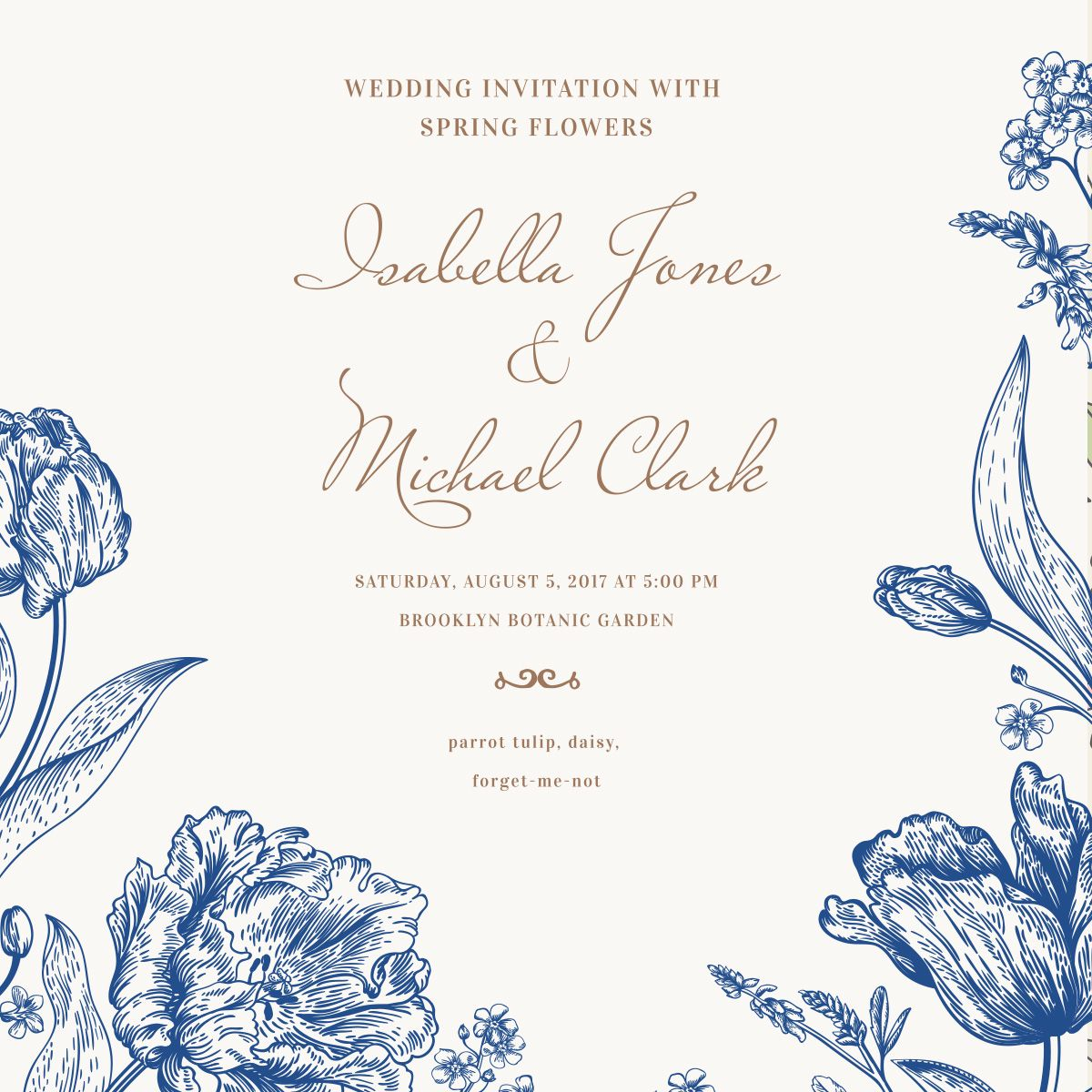 RabbitWed |Order a Classic Wedding Website and online Wedding ...