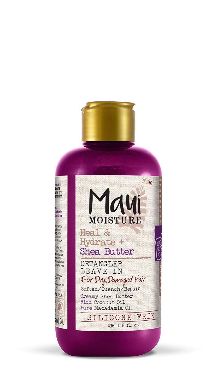 Maui moisture heal hydrate shea butter detangler leave
