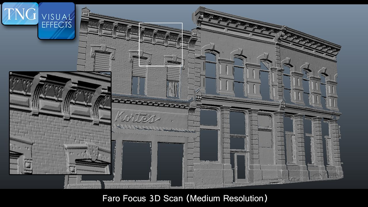 3d Scanning Can Be Used For Pre Vis Or To Virtually Build Out A Set