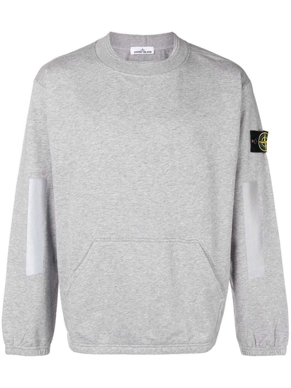 Stone Island Stone Island Basic Sweatshirt Grey Stoneisland Cloth Basic Sweatshirt Sweatshirts