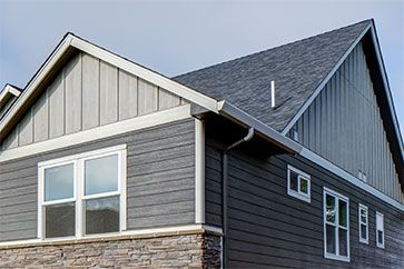 Panel Siding Garage Door Styles House Exterior House Siding