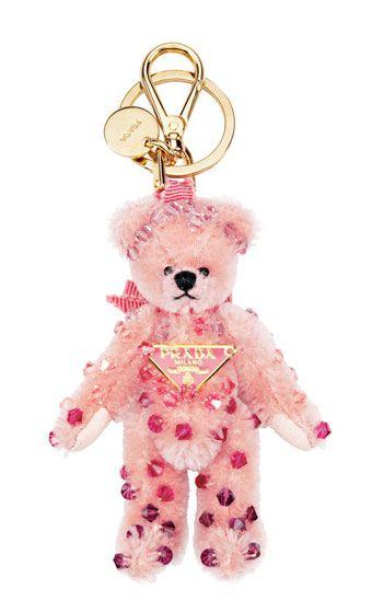 TEDDY BEAR Key Chain Keychain Ring Plush Bag Deco HUND Schlüsselanhänger Band