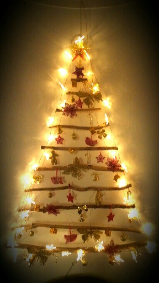 3460494cbdf Wall Christmas tree