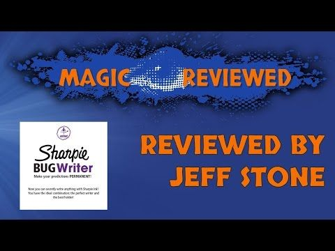 Sharpie Bug Writer Review: 4.5 Stars with a Stone Status of Gem.  Full Review: http://magicreviewed.com/reviews/sharpie-bug-writer-review/