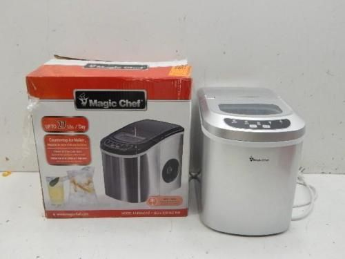Magic Chef HNIM27ST 27 Lb/Day Countertop Ice Maker 536346 J24 https://t.co/rpurV2vgKf https://t.co/5wfseOdE4Q