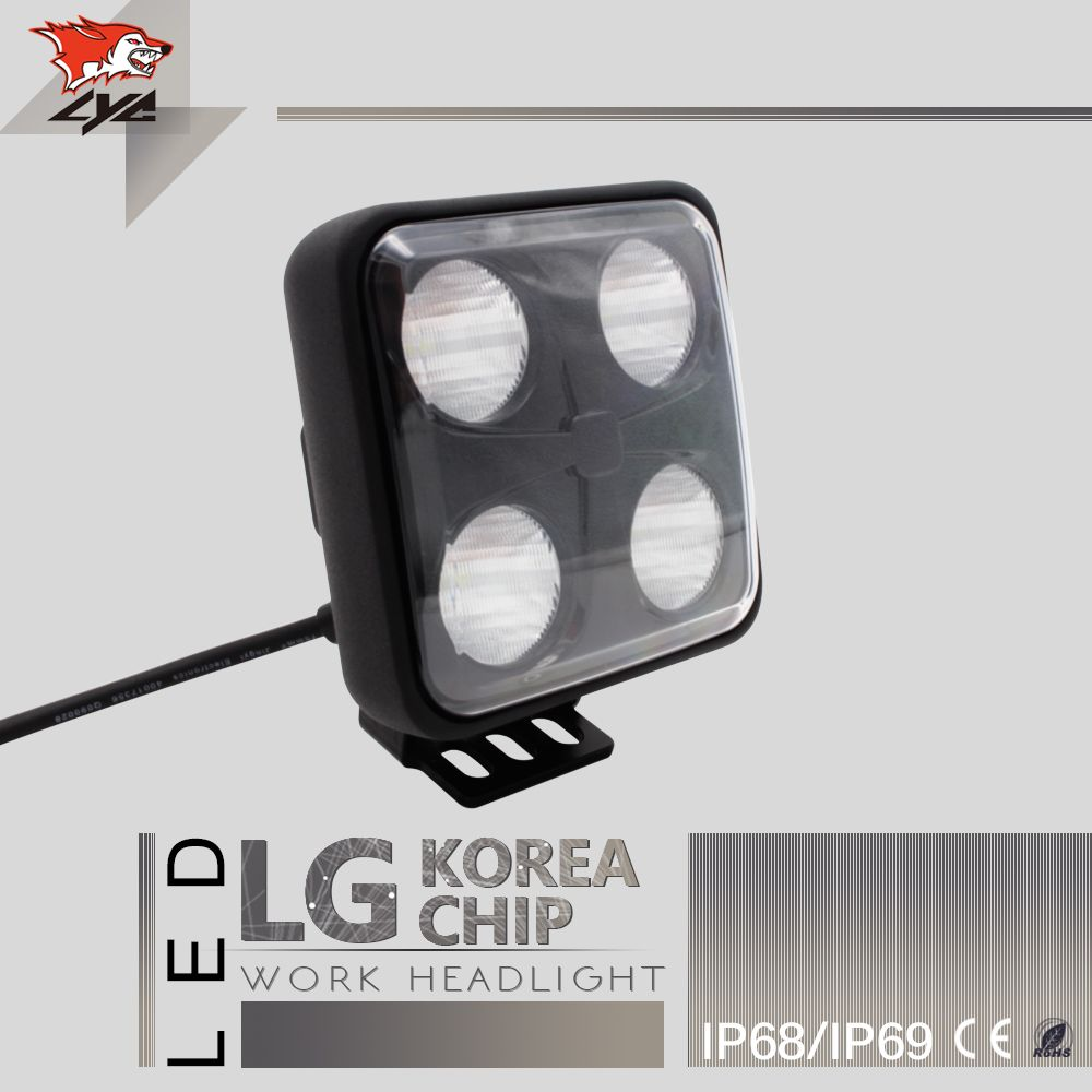 Lyc 1pcs Led Tractor Work Lighting High Power Led Lights Car Good Square Off Road Lights 4 Inches Korea Car Led Lights Led Headlights Cars Off Road Led Lights