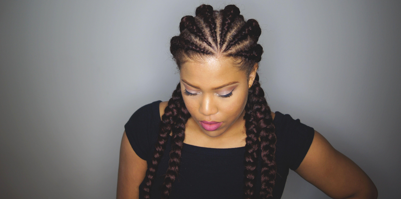 how to install ghana cornrows - samantha pollack | hair styles