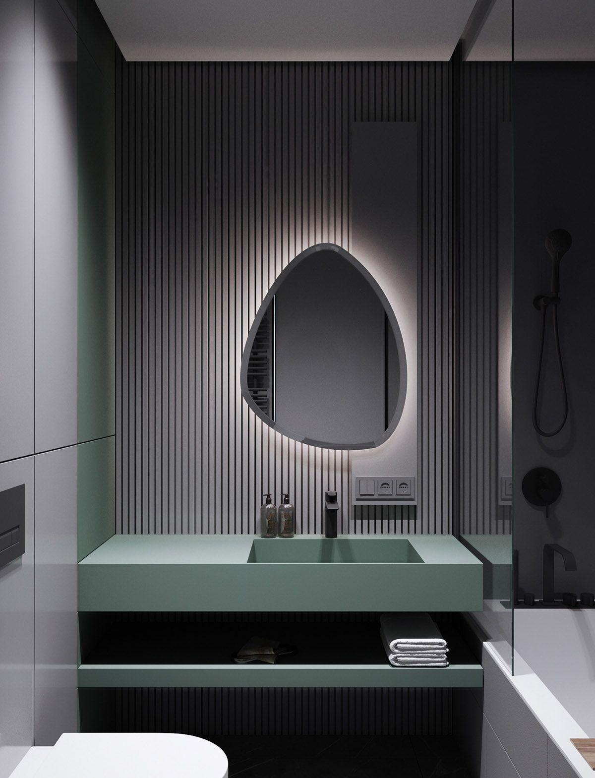 Photo of Modern Minimalist Apartment Designs Under 75 Square Meters,  #Apartment #Designs #Meters #Min…