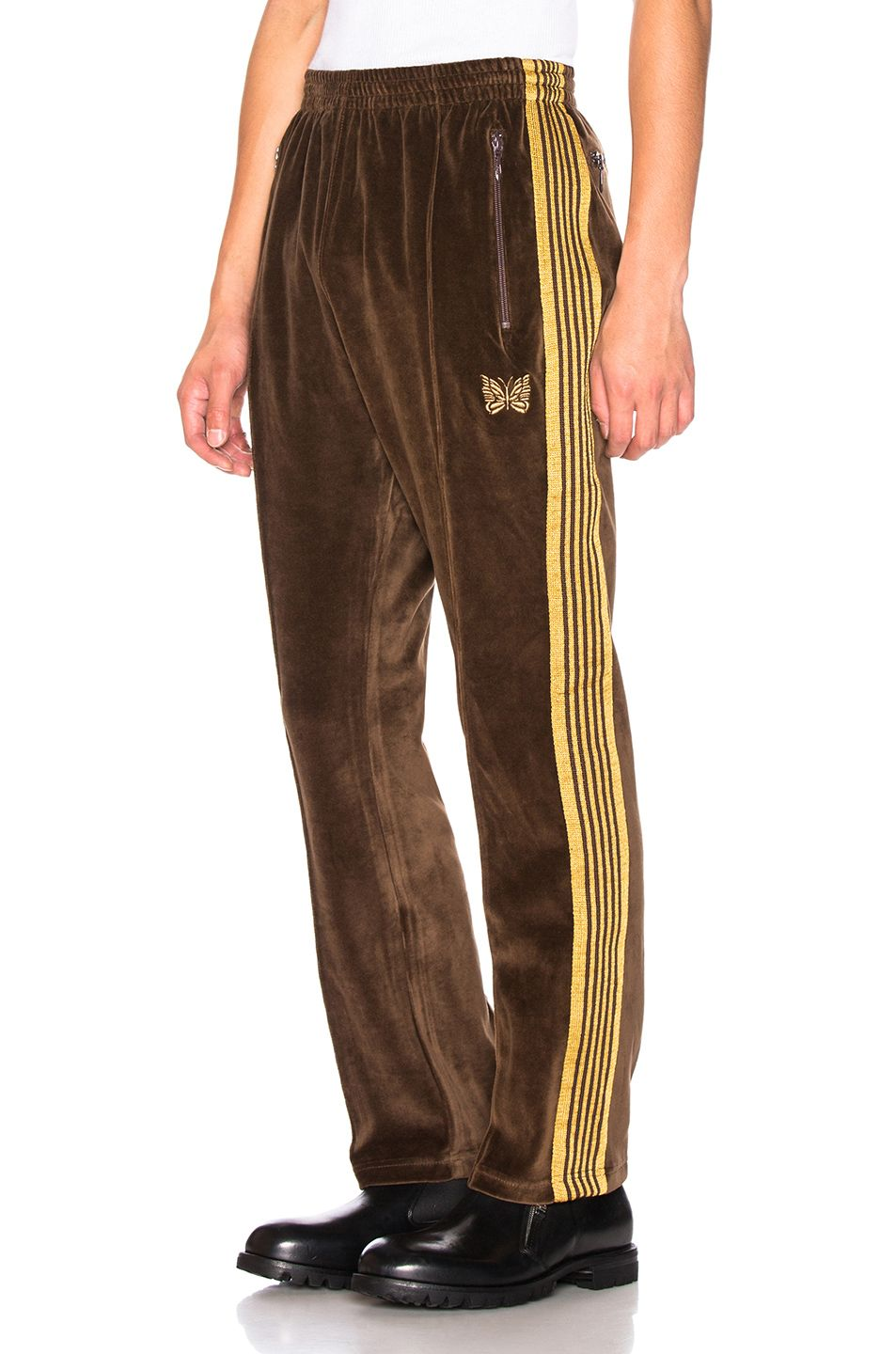 Image 1 Of Needles Velour Track Pant In Brown Streetwear Fashion Funky Outfits Track Pants