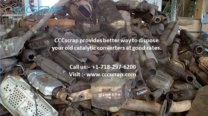 Sell All Your Catalytic Converters To Cccscrap Contact Us At