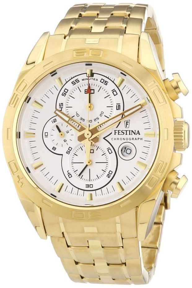 gold watches men festina festina gold stainless steel band gold watches men festina festina gold stainless steel band chronograph f16656 1