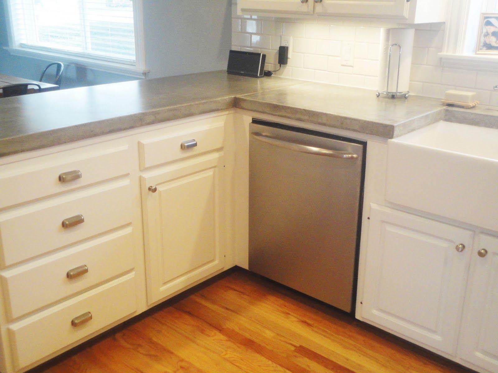 Daly Designs. DIY Concrete Counters | Kitchen | Pinterest