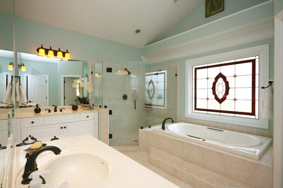Sherwin Williams Sea Salt Bathroom Traditional With Bathroom Rug Bathroom Lighting Traditional Bathroom Bathroom Lighting Diy Bedroom Paint Colors Master