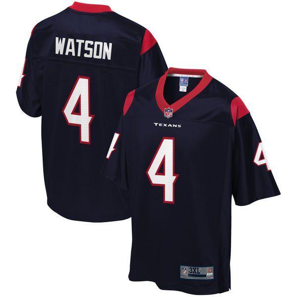 100% authentic 90918 e650a Deshaun Watson Jerseys - Houston Texans uniform by Pro Line ...