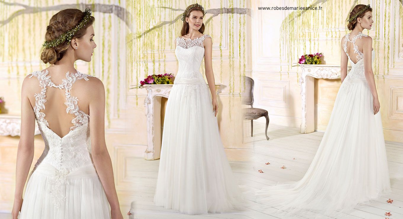 Robes glamours pour mariages chics