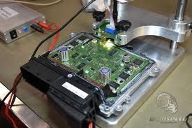 Chip tuning refers to changing or modifying an erasable programmable read only memory chip in an automobile's or other vehicle's electronic control unit (ECU) to achieve superior performance, whether it be more power, cleaner emissions, or better Fuel efficiency