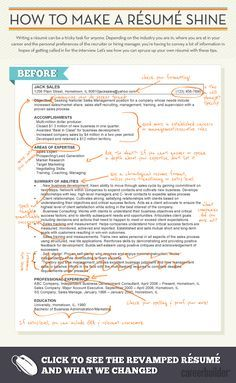 check out this infographic to learn how to make your resume shine