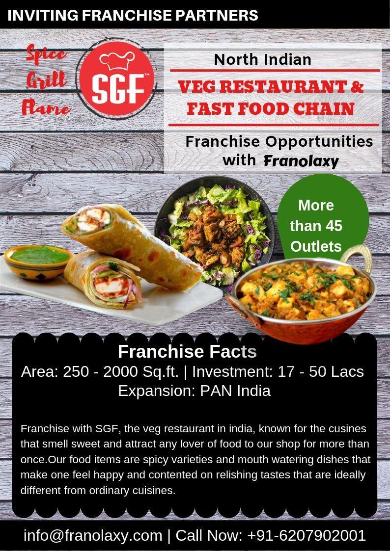 Sgf Veg Restaurant Franchise Veg Restaurant Food Franchise Opportunities Food