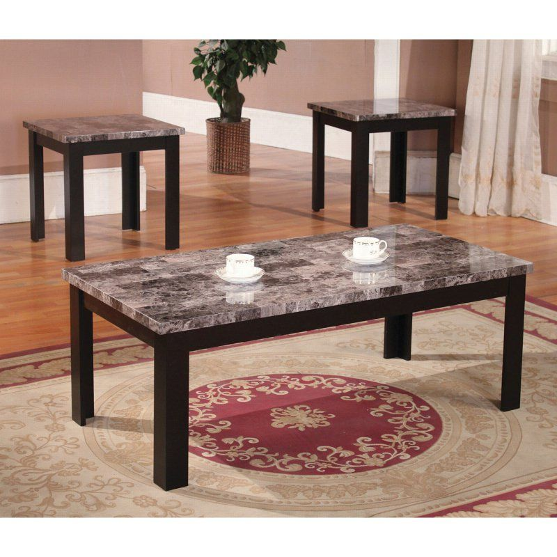 Found It At Wayfair Marble Top Coffee Table Set