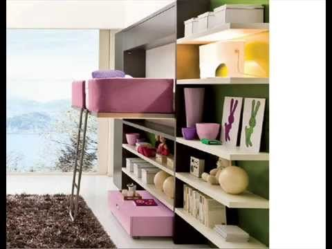 Muebles camas para espacios peque os solu es para - Muebles de salon para pequenos espacios ...