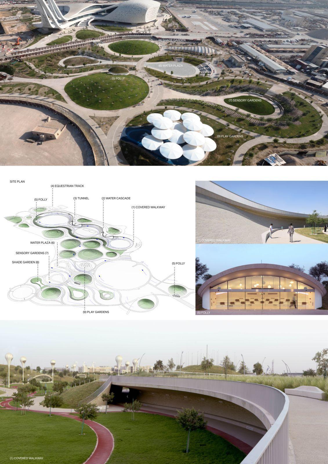 Oxygen Park Education City Parking Design Park