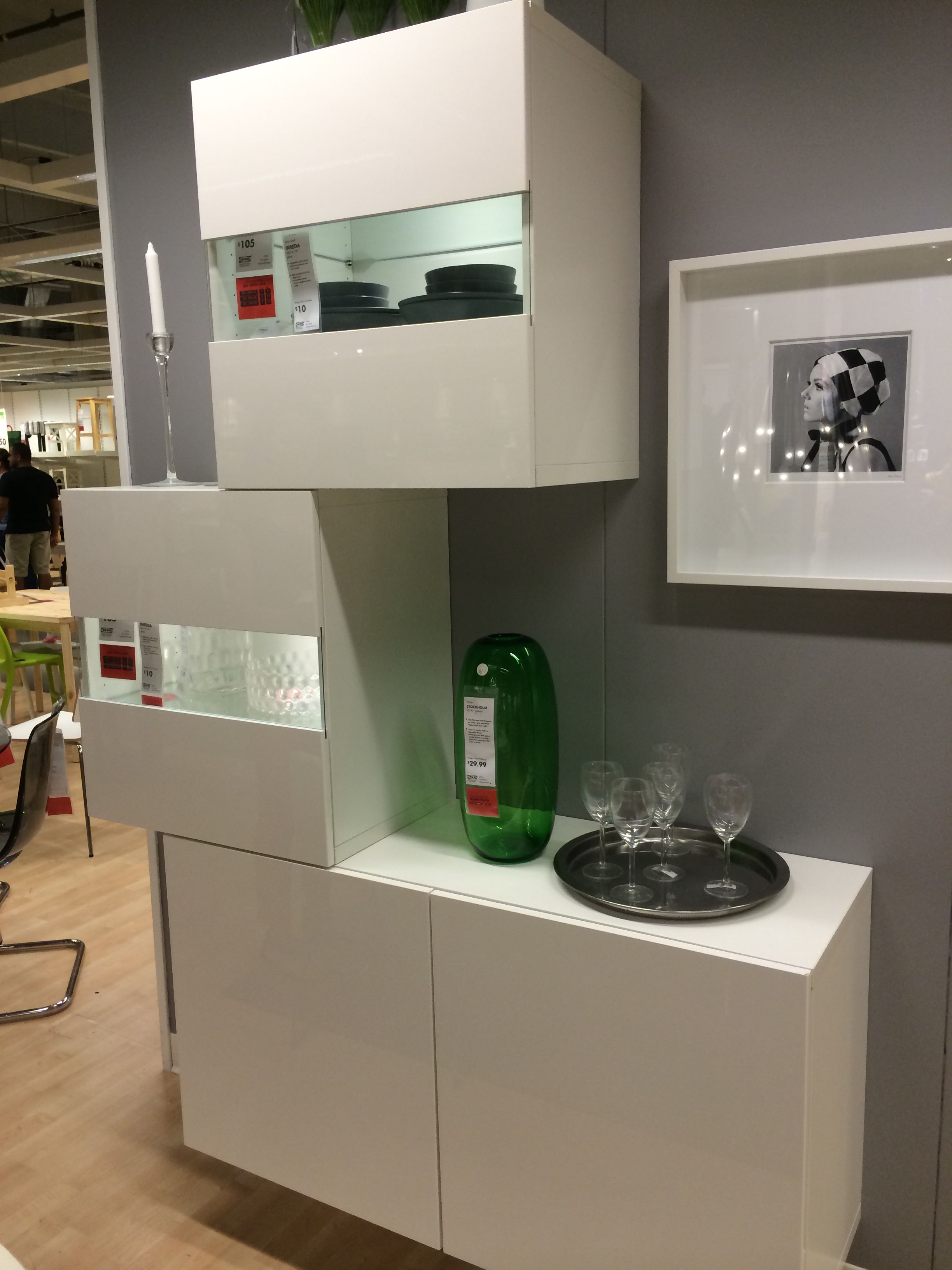 Ikea modular home bar. | Wishlist | Pinterest