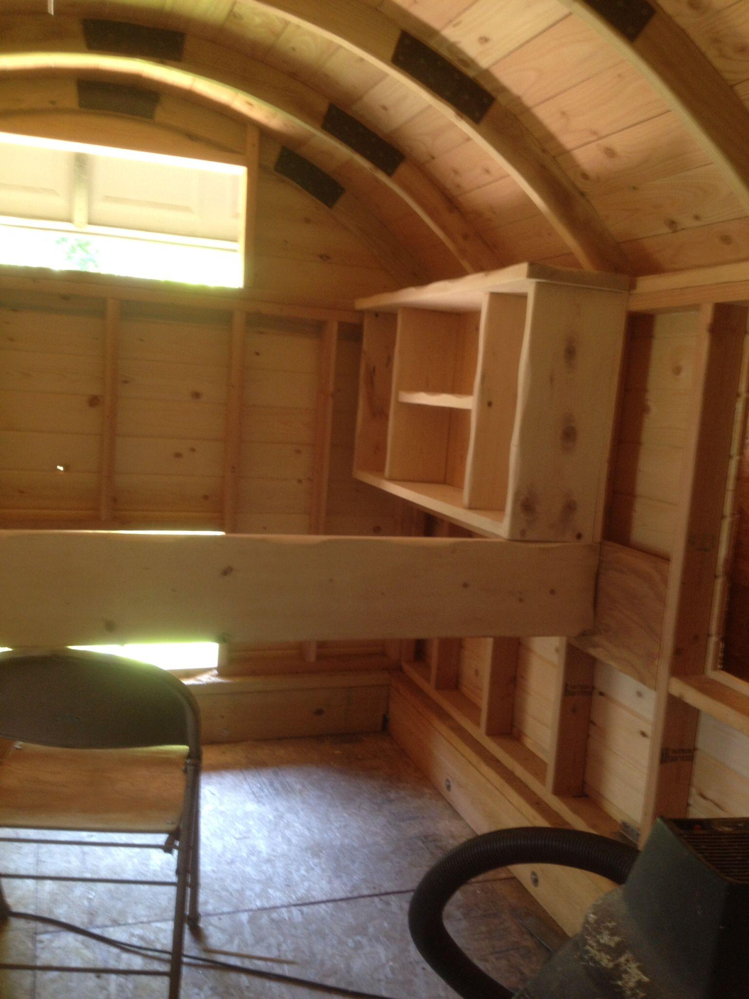 Building A Sheep Camp Tiny House Trailer Vardo Camper Living