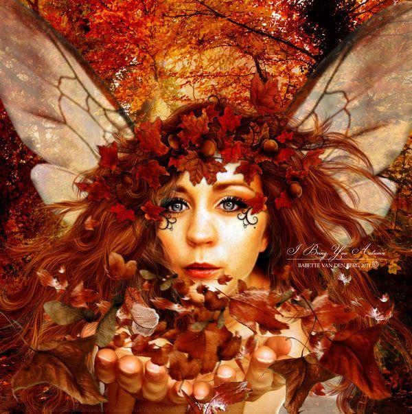 I Bring You Autumn by babsartcreations.deviantart.com on @deviantART