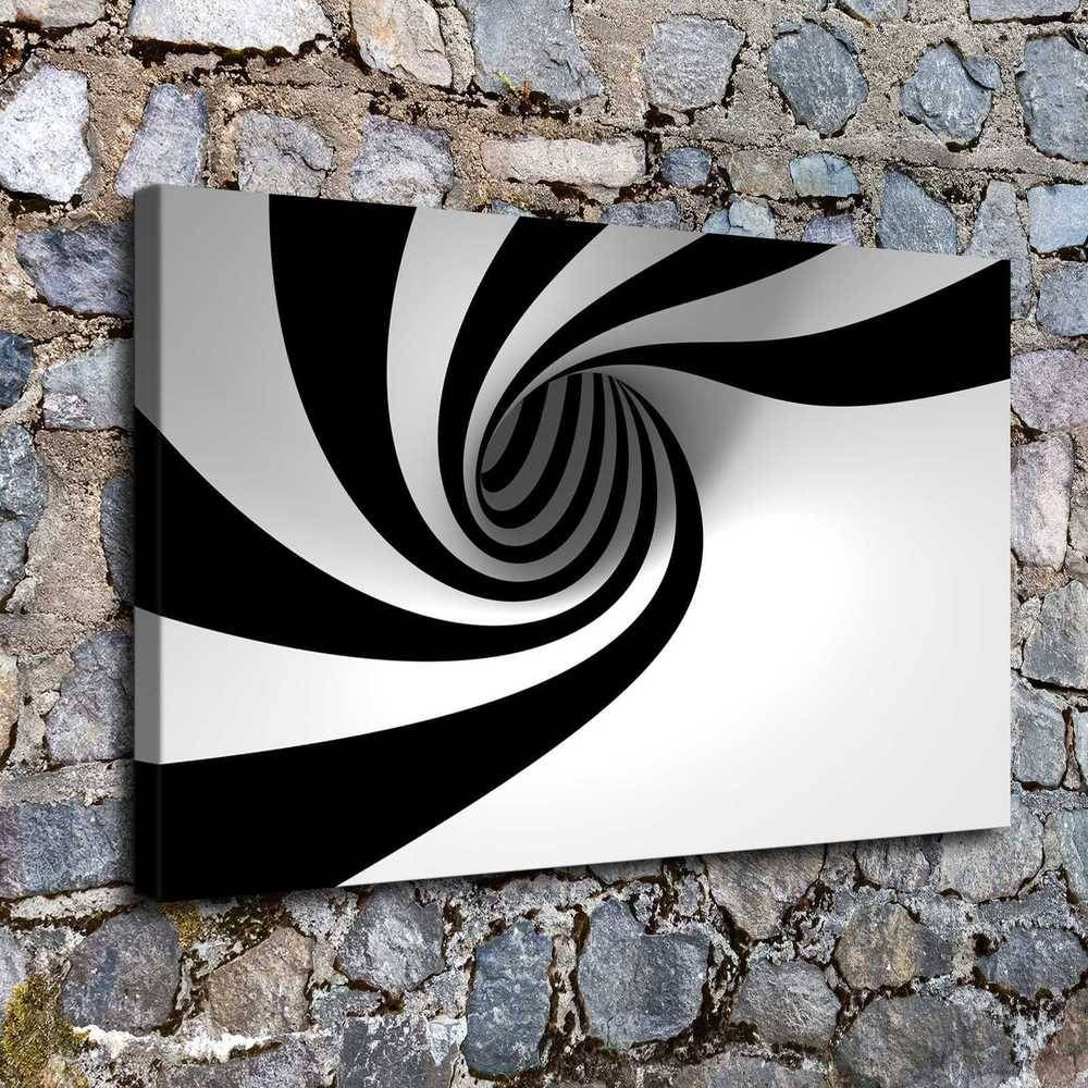 0127 3d Black White Posterhome Decor Hd Canvas Print Picture Wall Art Painting Ebay 3d Painting On Canvas 3d Art Painting Animal Wall Painting