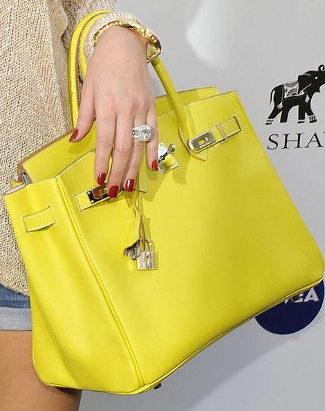 Khloe Kardashian Leather Tote - Khloe Kardashian Tote Bags - StyleBistro