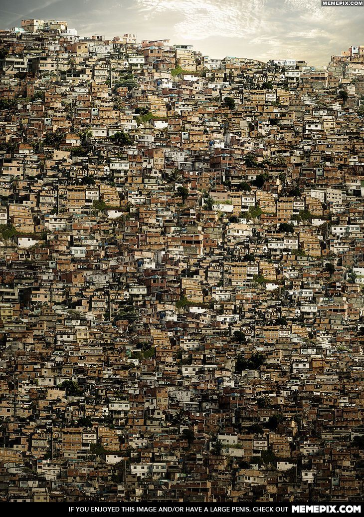 A Brazilian Favela | Ibrahim jaffar Dubai | City, Urban landscape, Slums
