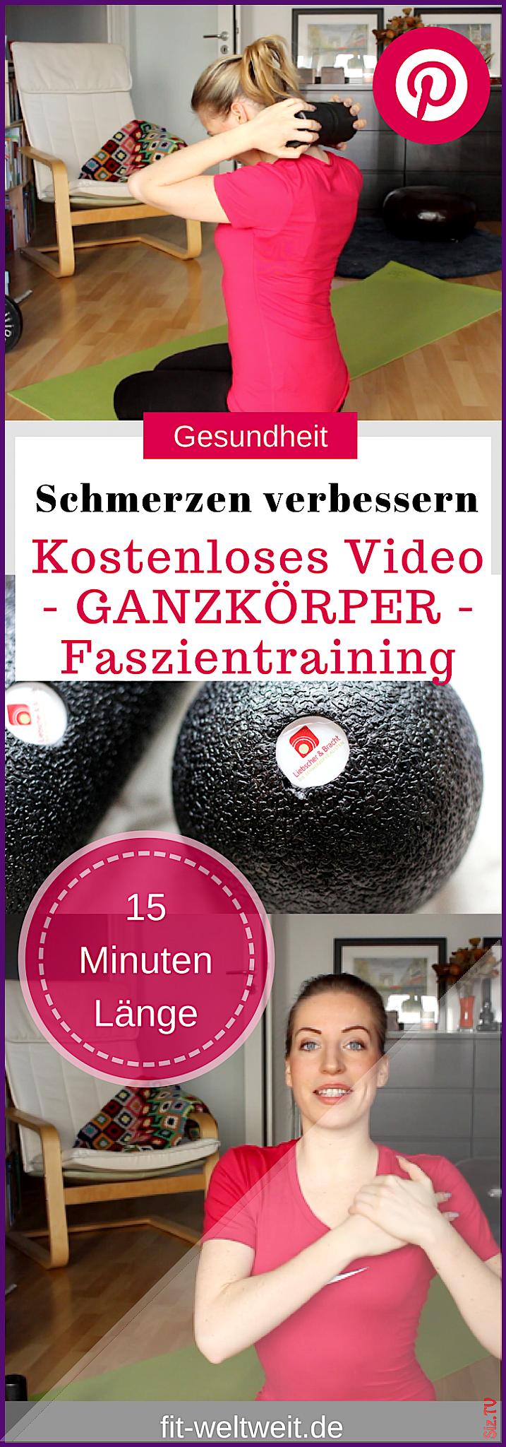 Ganzk rper Faszientraining Schmerzen verbessern  R cken Nacken und Schulter Liebscher 038 Bracht Gan...
