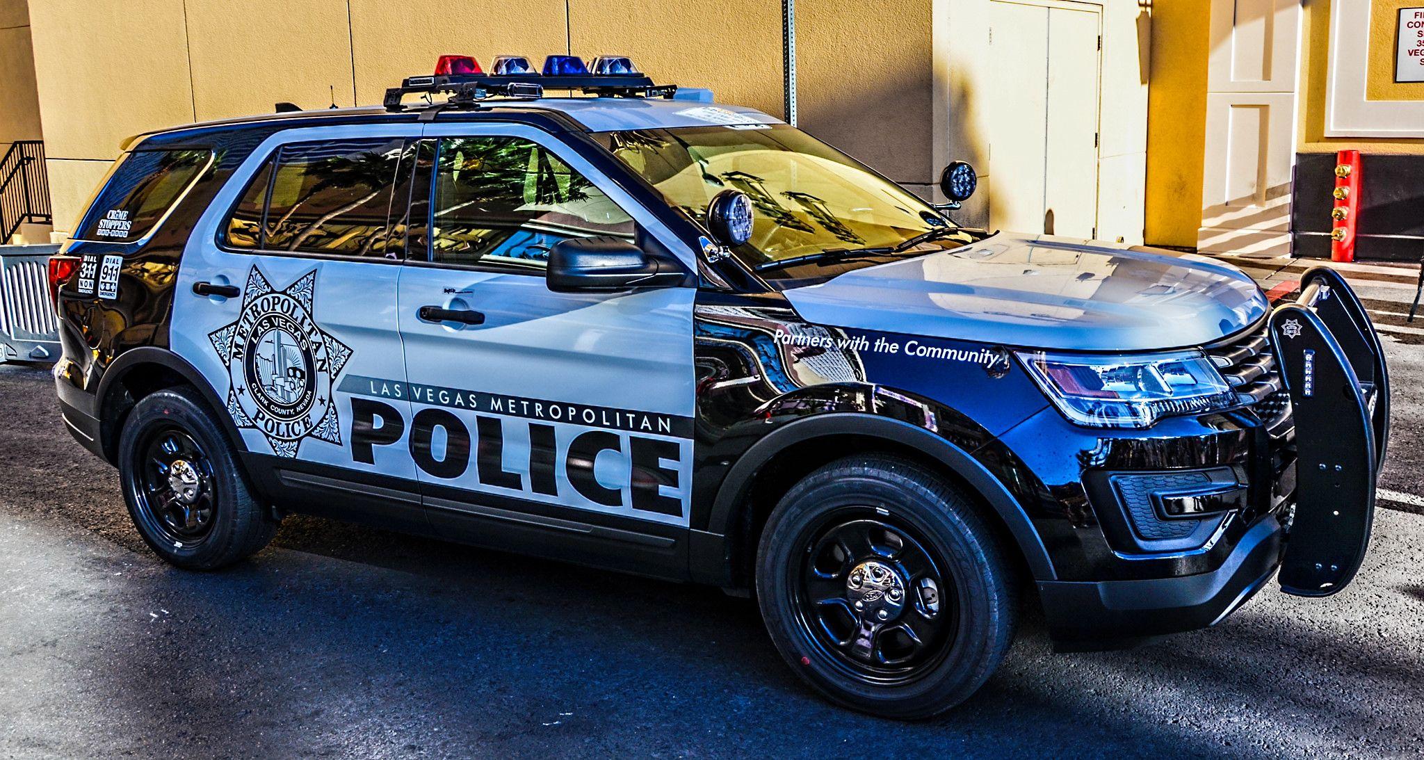 Las Vegas Metropolitan Police Ford Police Police Cars Police