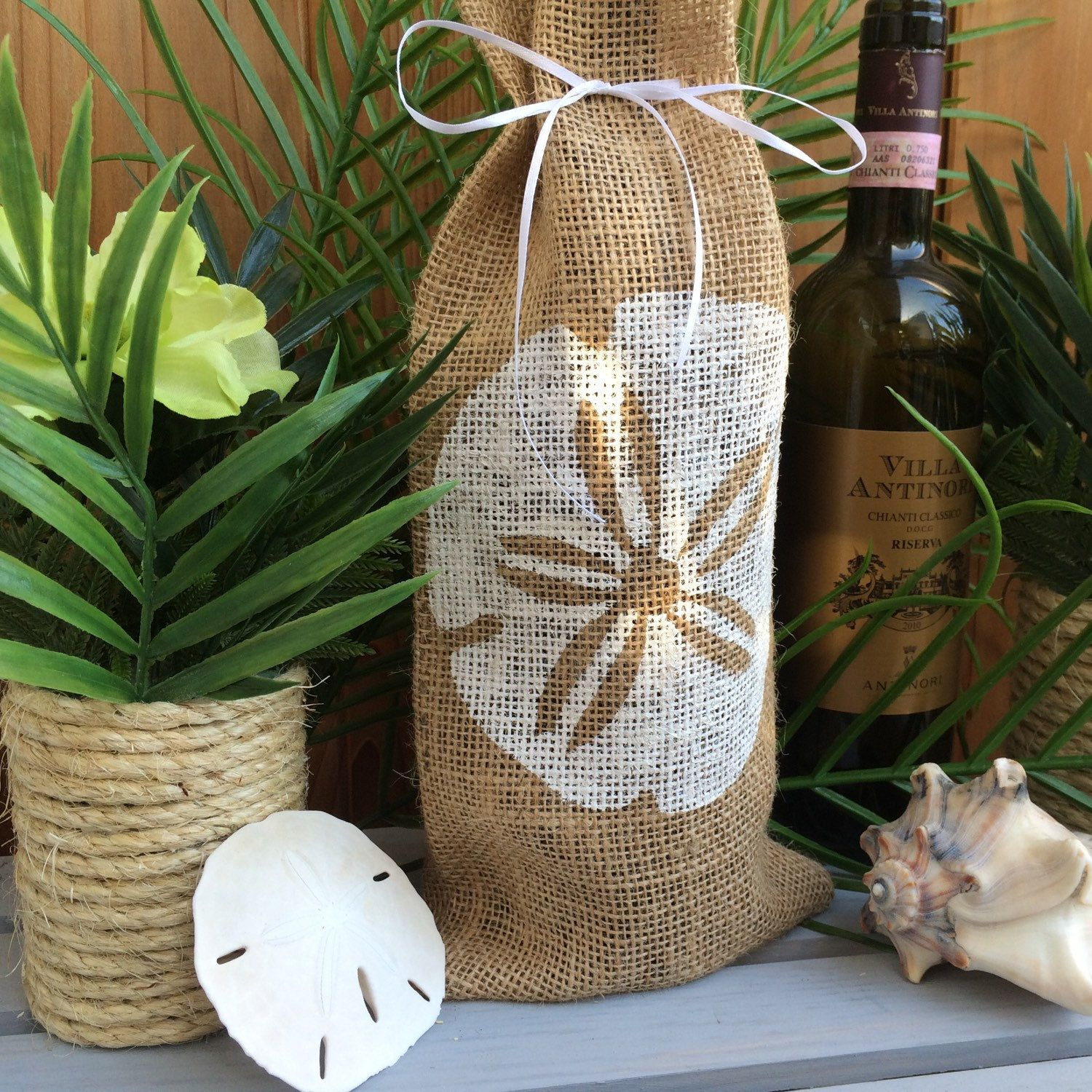New Sand Dollar option for our wine/beer gift bag!
