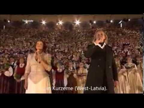 Latvian Song Festival 2013 Dveseles Dziesma The Soul S Song