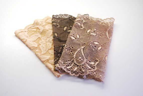 EARTH Limited EDITION 3 Lace Wrist Cuffs in by stunninglooks, €11.25