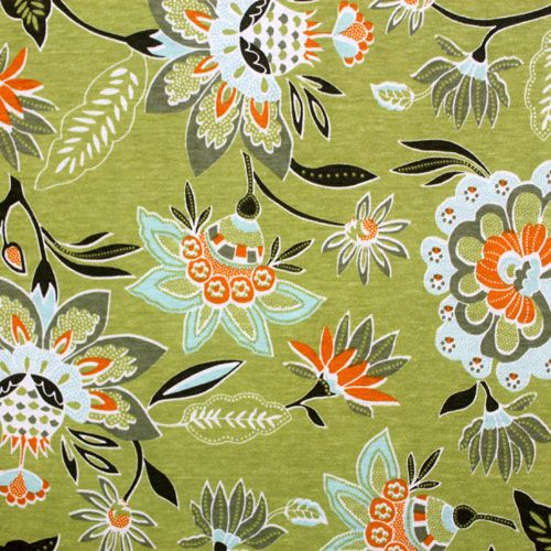 Neo Macao Green Cotton Jersey Knit Fabric